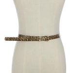 FSA019 Thin Leopard Pattern Belt, Leopard